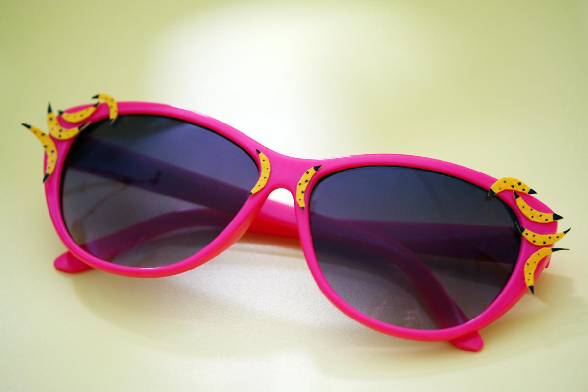 lunettes de soleil banane