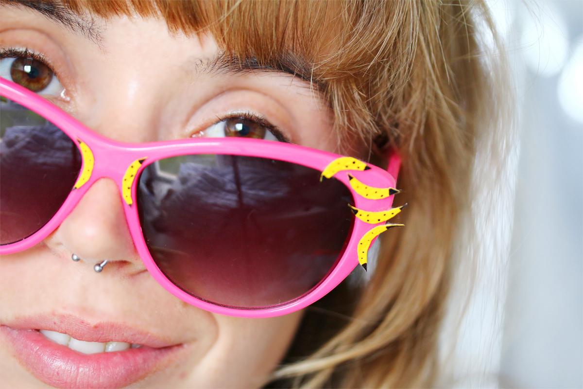 se customiser ses lunettes de soleil