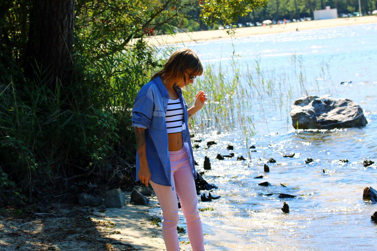 blog mode paris look rayban