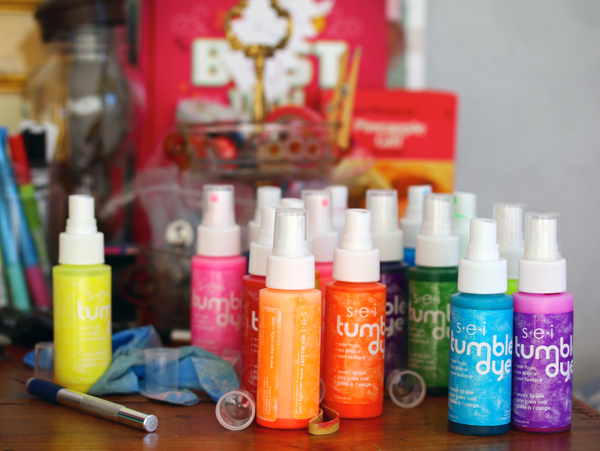 teinture en spray tumble die special tie dye