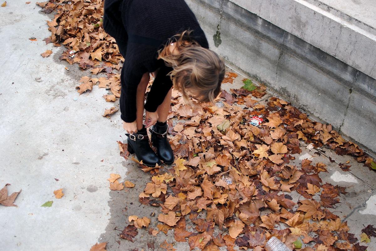 blog mode paris look bottines à boucles