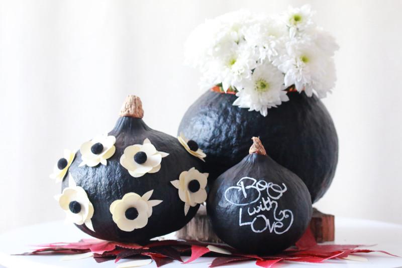diy décoration citrouille pour halloween