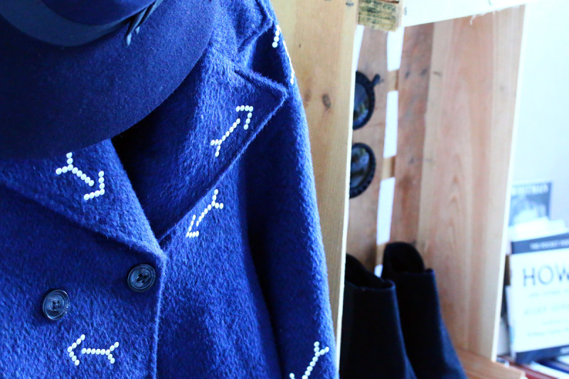 diy manteau à fleche carven like