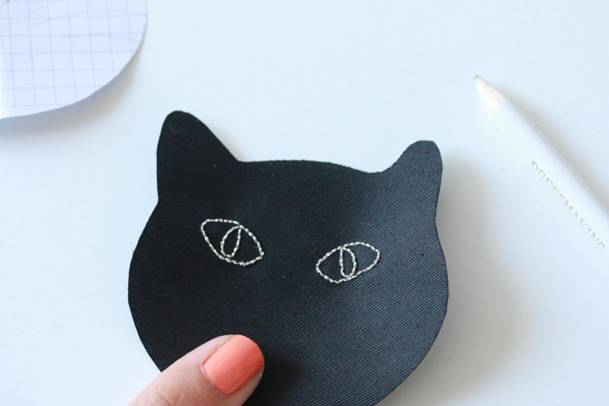 Diy 30 coudi re chat noir pour halloween sp4nk blog - Mon chat me colle plus que d habitude ...