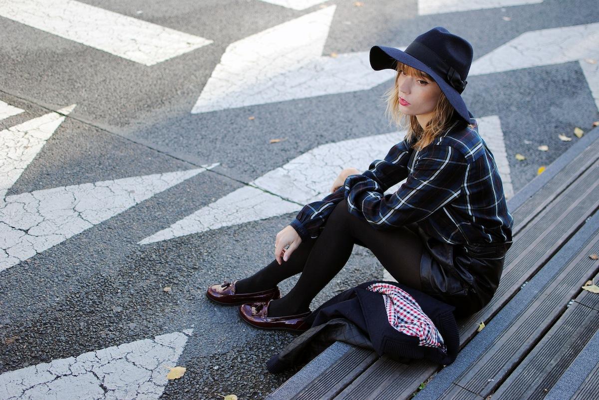 Blog mode paris look preppy et rock