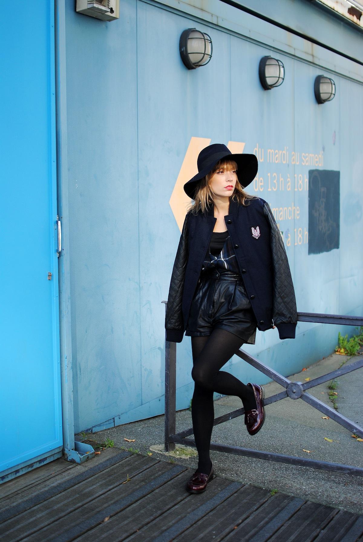 Blog mode paris look teddy et moccassin