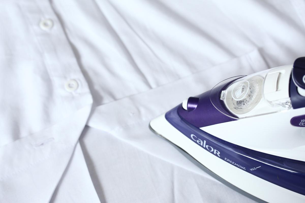 Etape 4 transformer sa chemise en robe 1