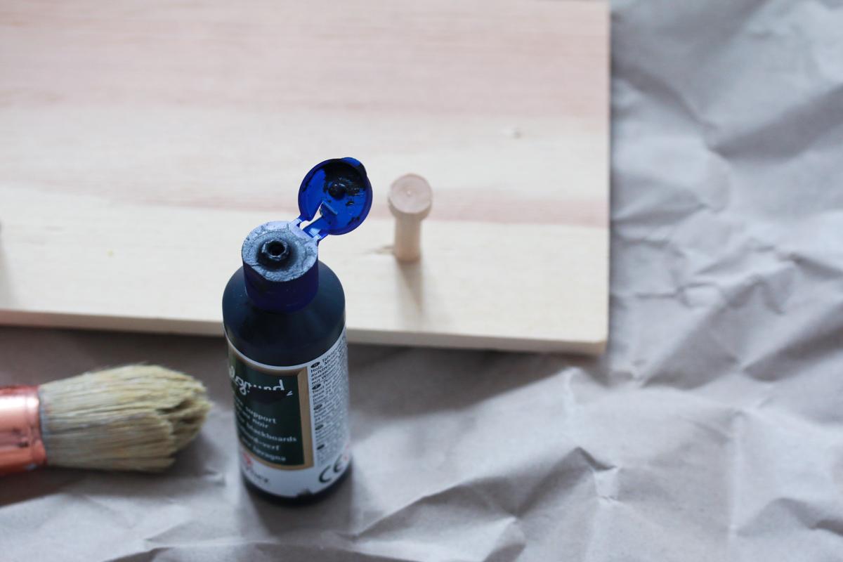 diy etape peinture tableau