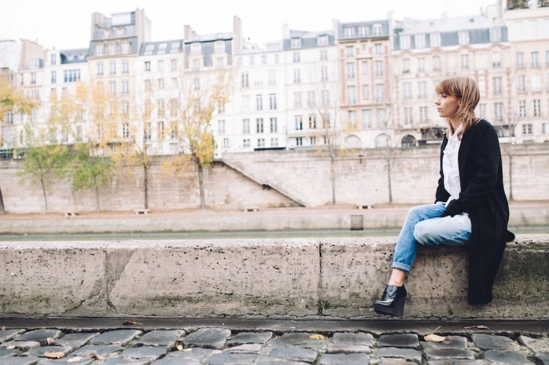 blog mode paris look jean boyfriend et creepers