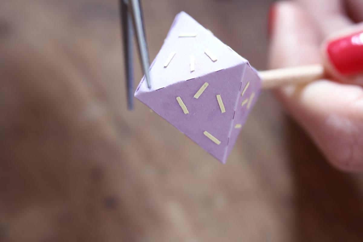 diy diamant en papier