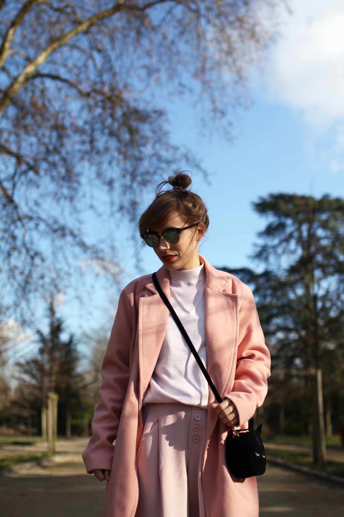 blog mode paris Look rose