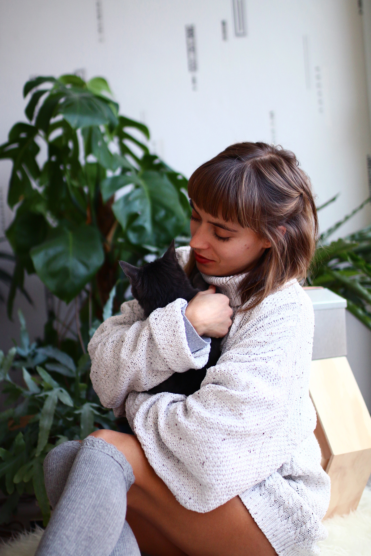 calin avec mon ptit chat cocooning day