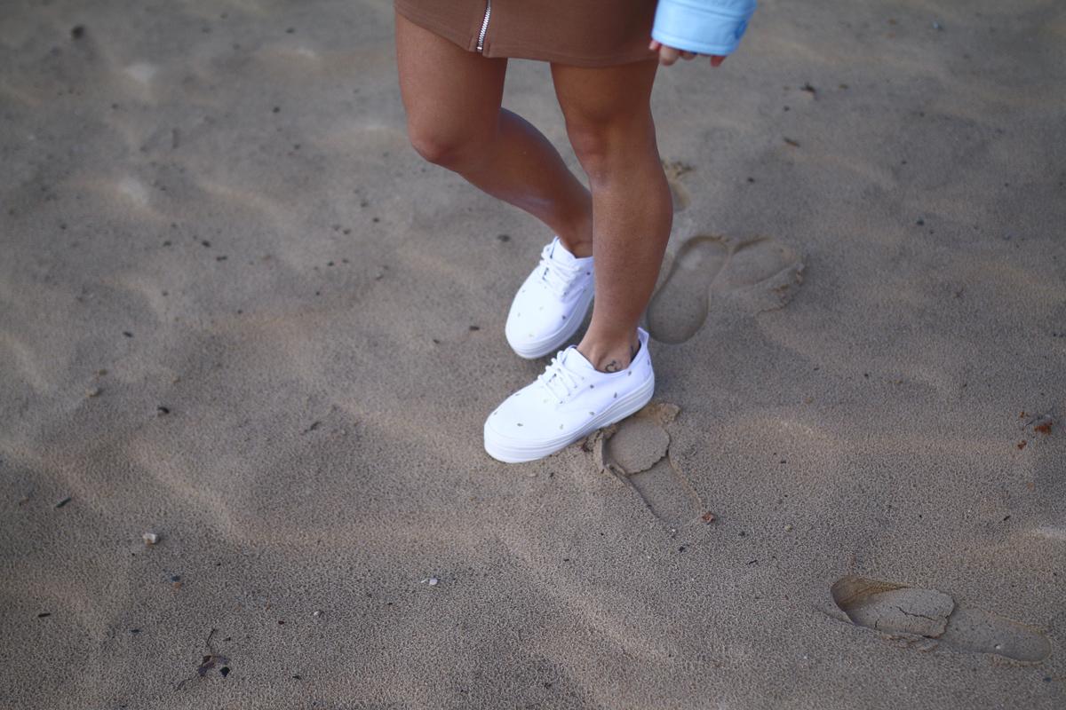 chaussure ananas