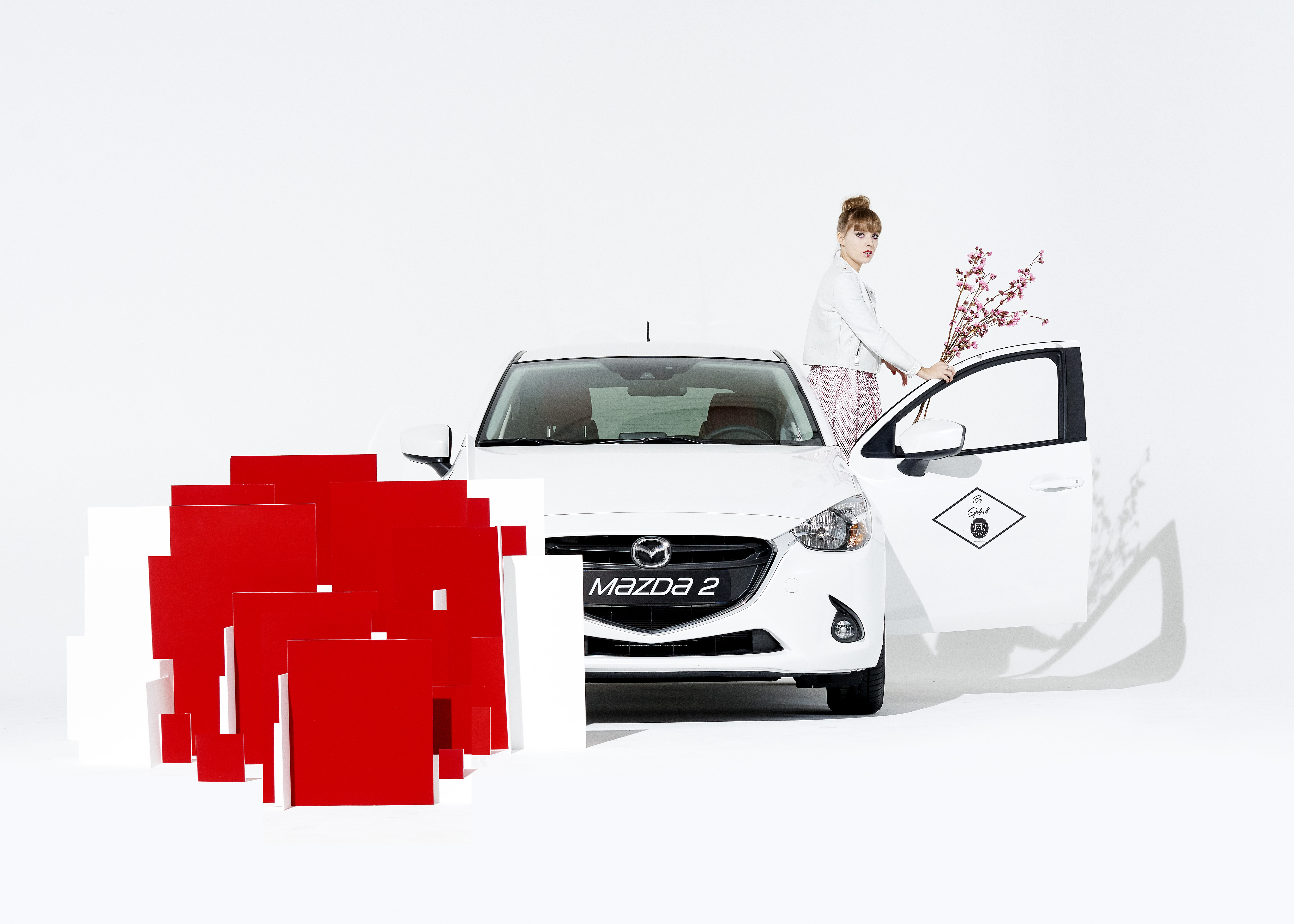 Campagne pour Mazda 2 sp4nk blog