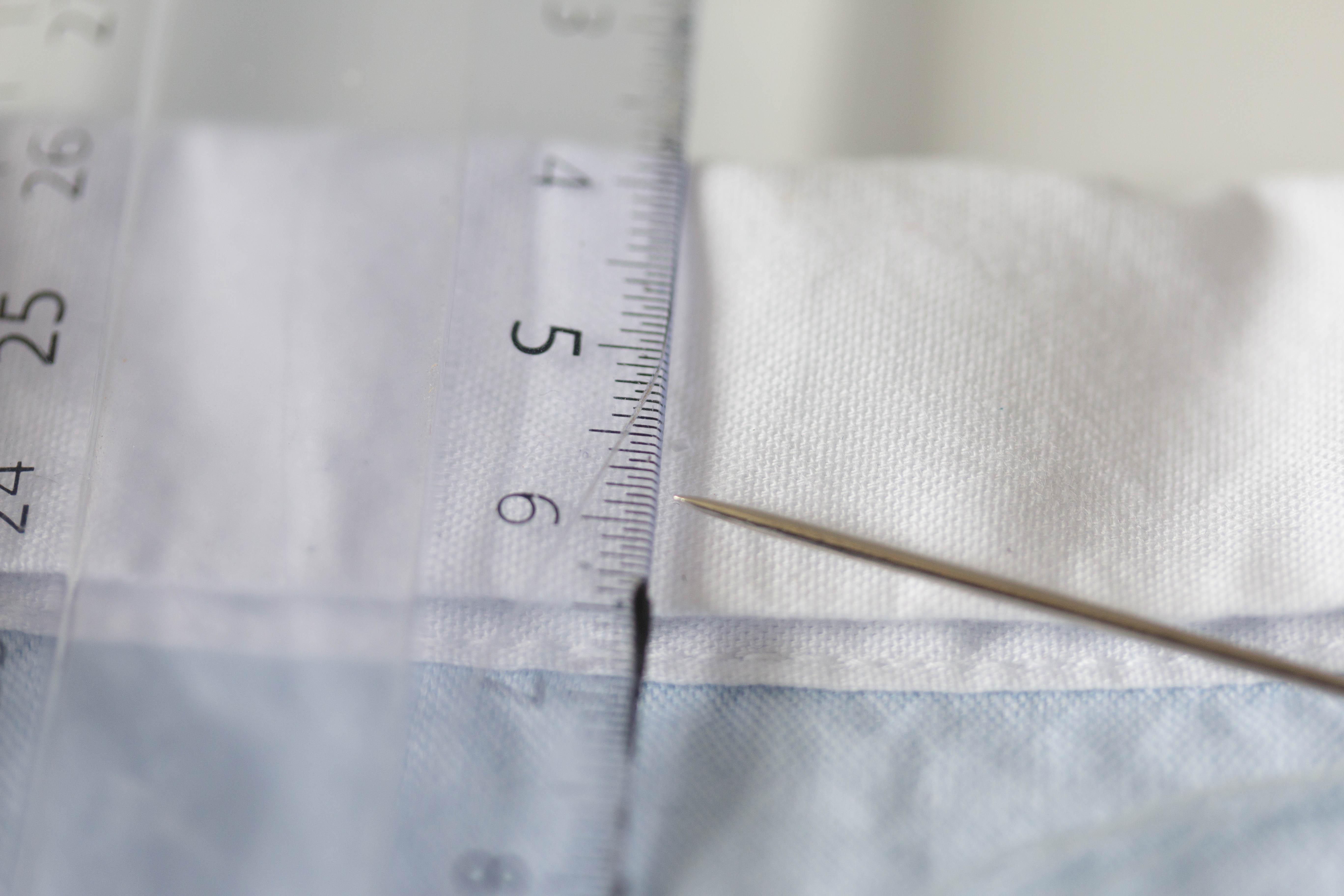 DIY chemise col brodé avec une ancre 11