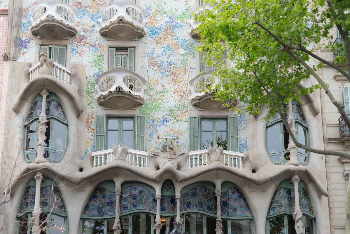 Les facades de Barcelone 2  | SP4NK BLOG