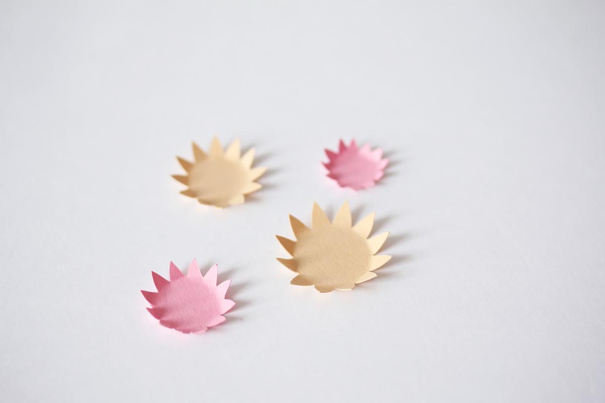 faire des fleurs en papier diy
