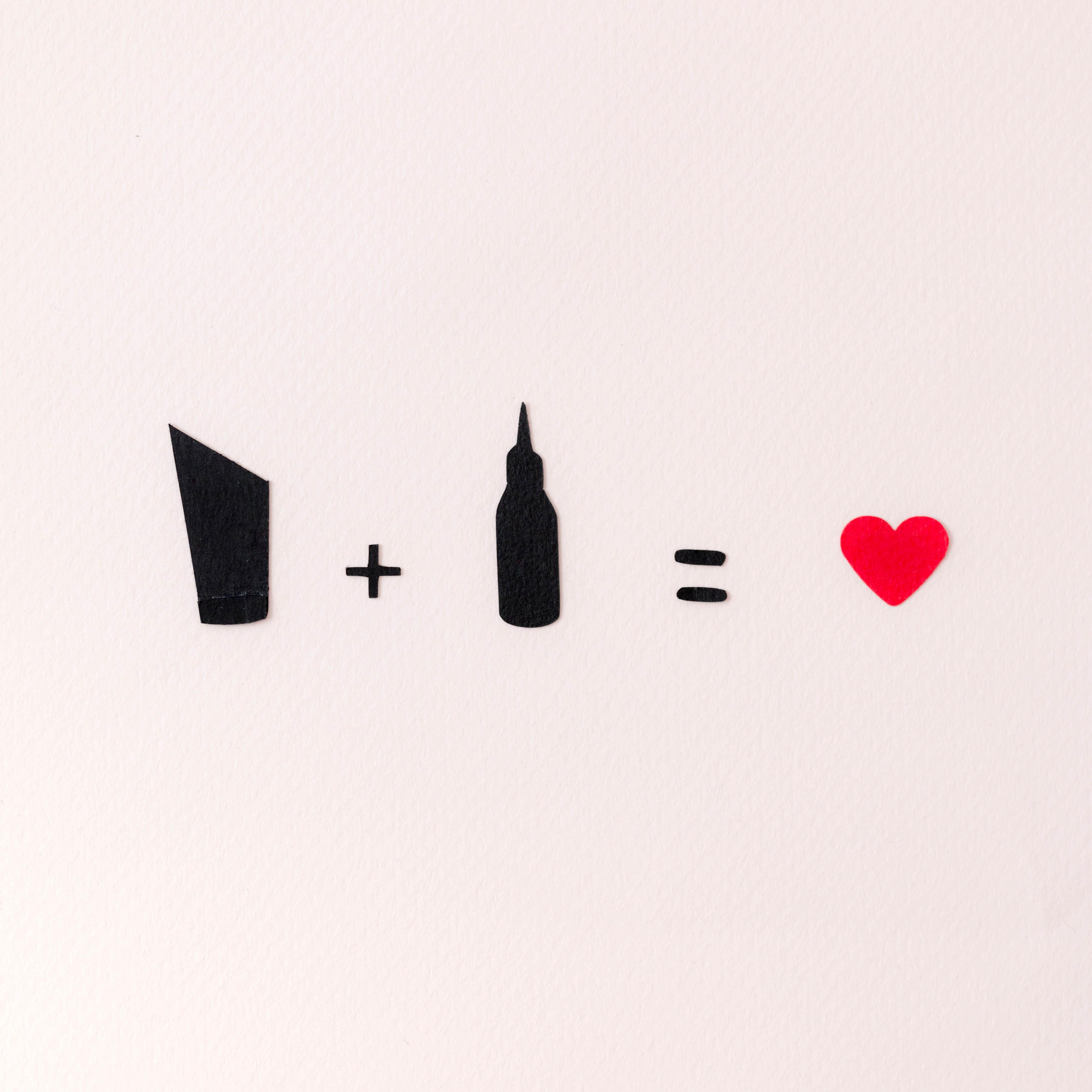 Amour des cheveux papier | SP4NK BLOG