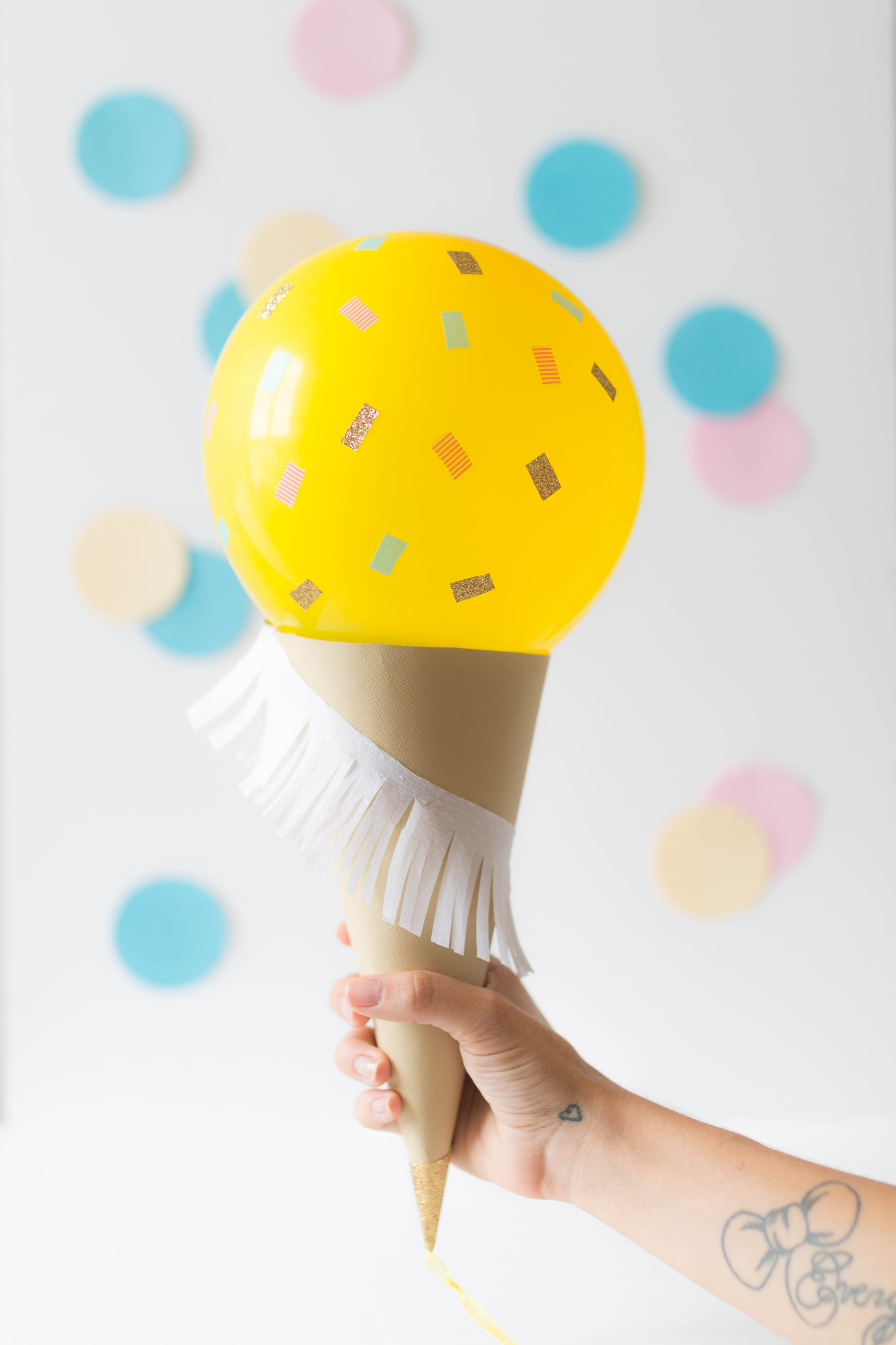 Ice cream balloon DIY 1 | SP4NK BLOG