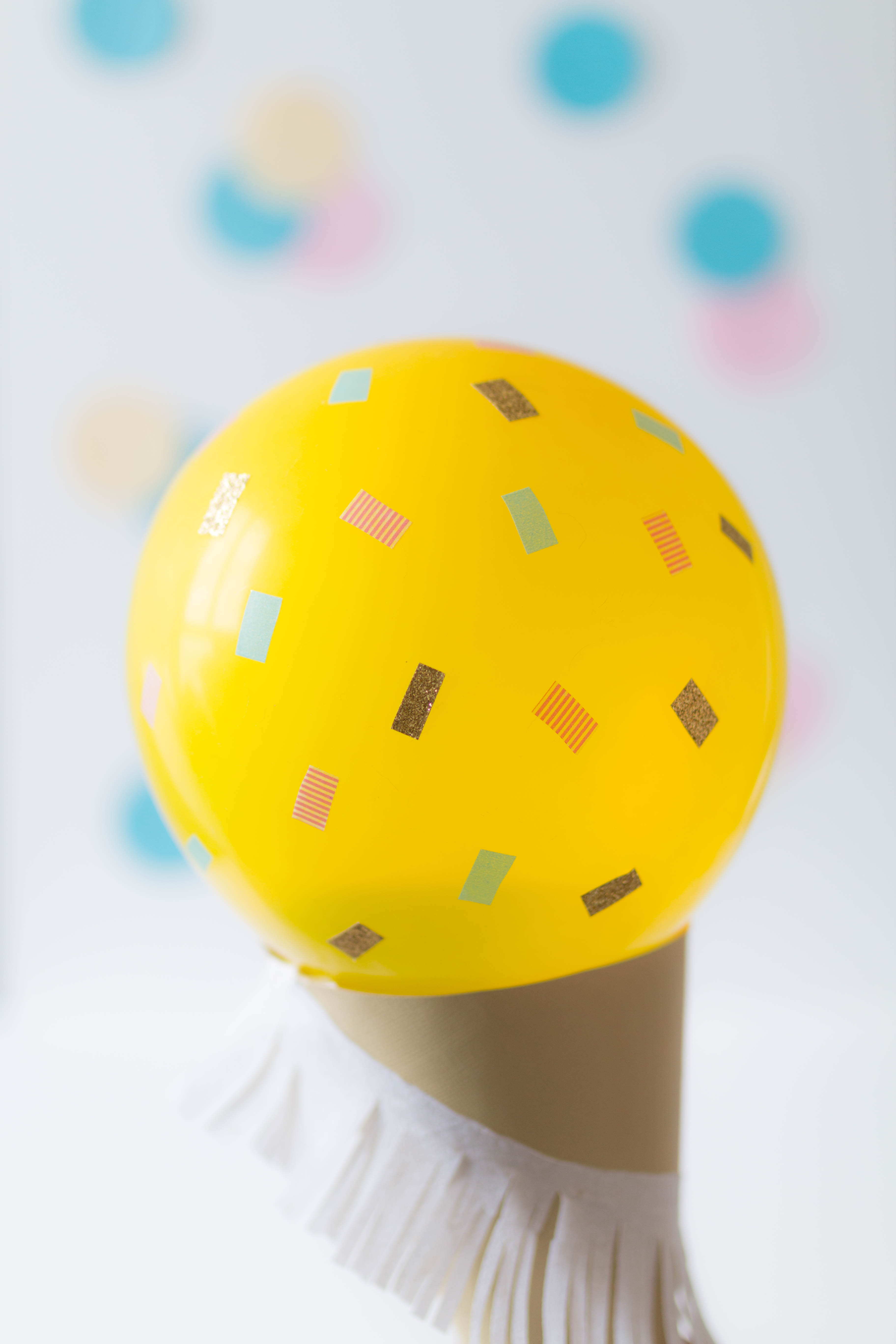 Ice cream balloon DIY 18 | SP4NK BLOG