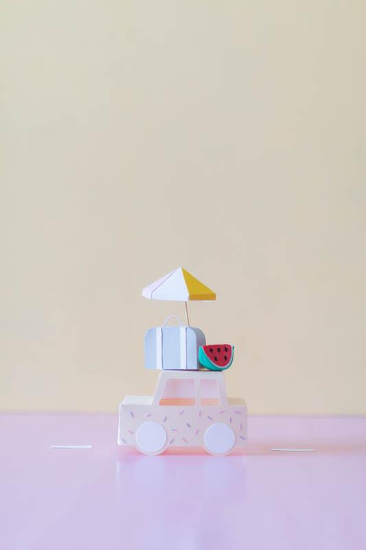 Paper art voiture | SP4NK BLOG
