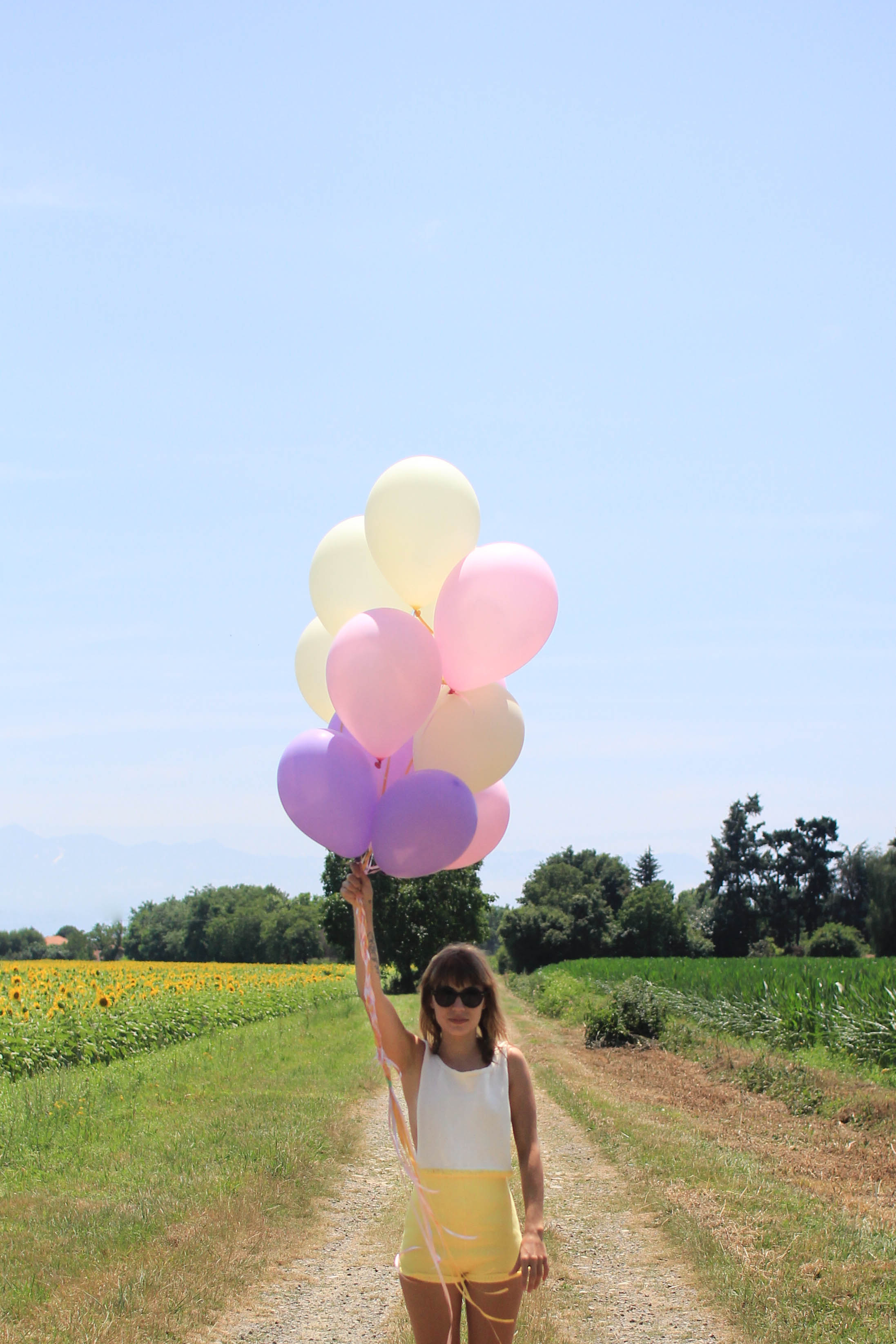 Sunflowers and balloons 1 | SP4NK BLOG