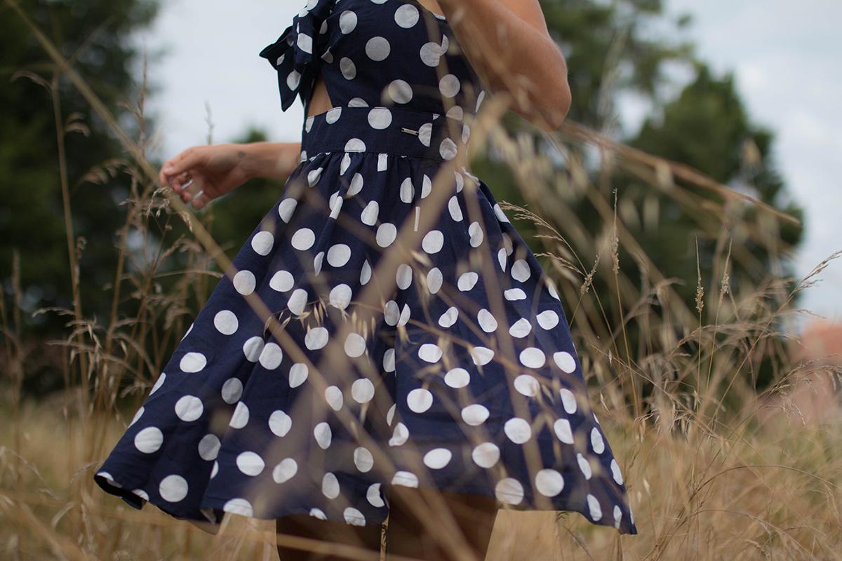 Petit look d'été robe à pois | SP4NK BLOG-6