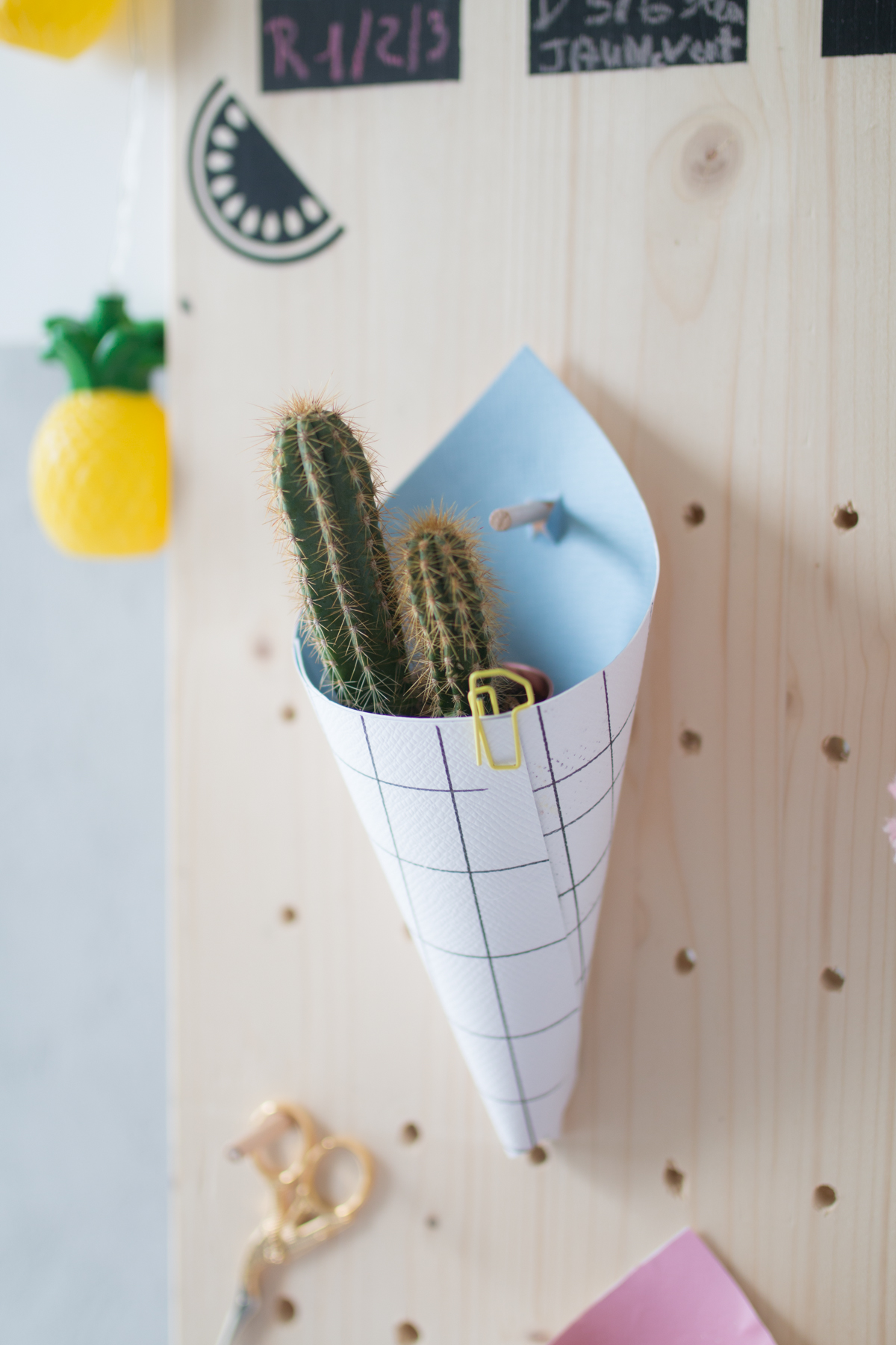 DIY cornet en papier I Sp4nkblog-17