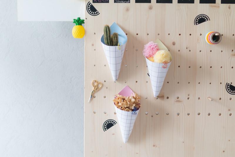 DIY cornet en papier I Sp4nkblog-18