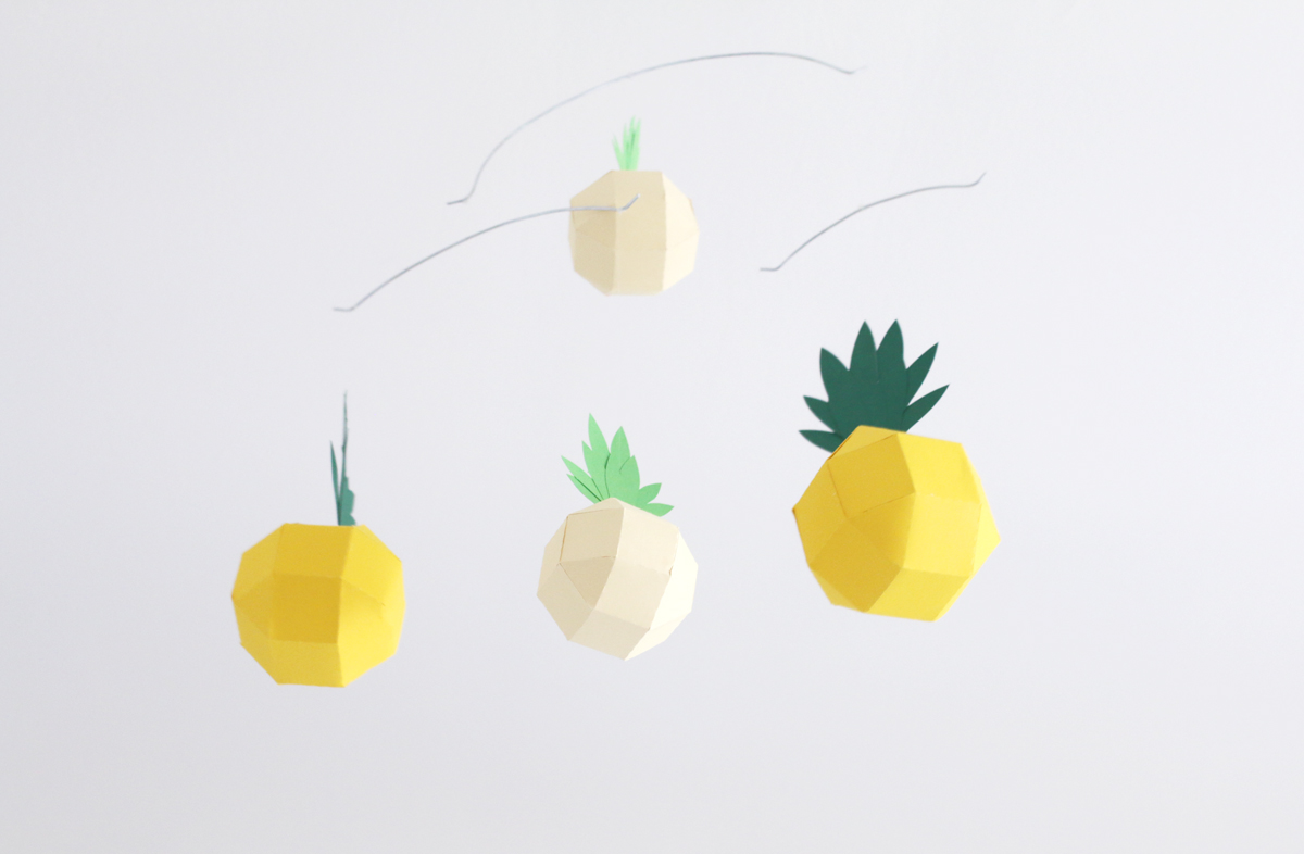 DIY le mobile ananas | SP4NK BLOG
