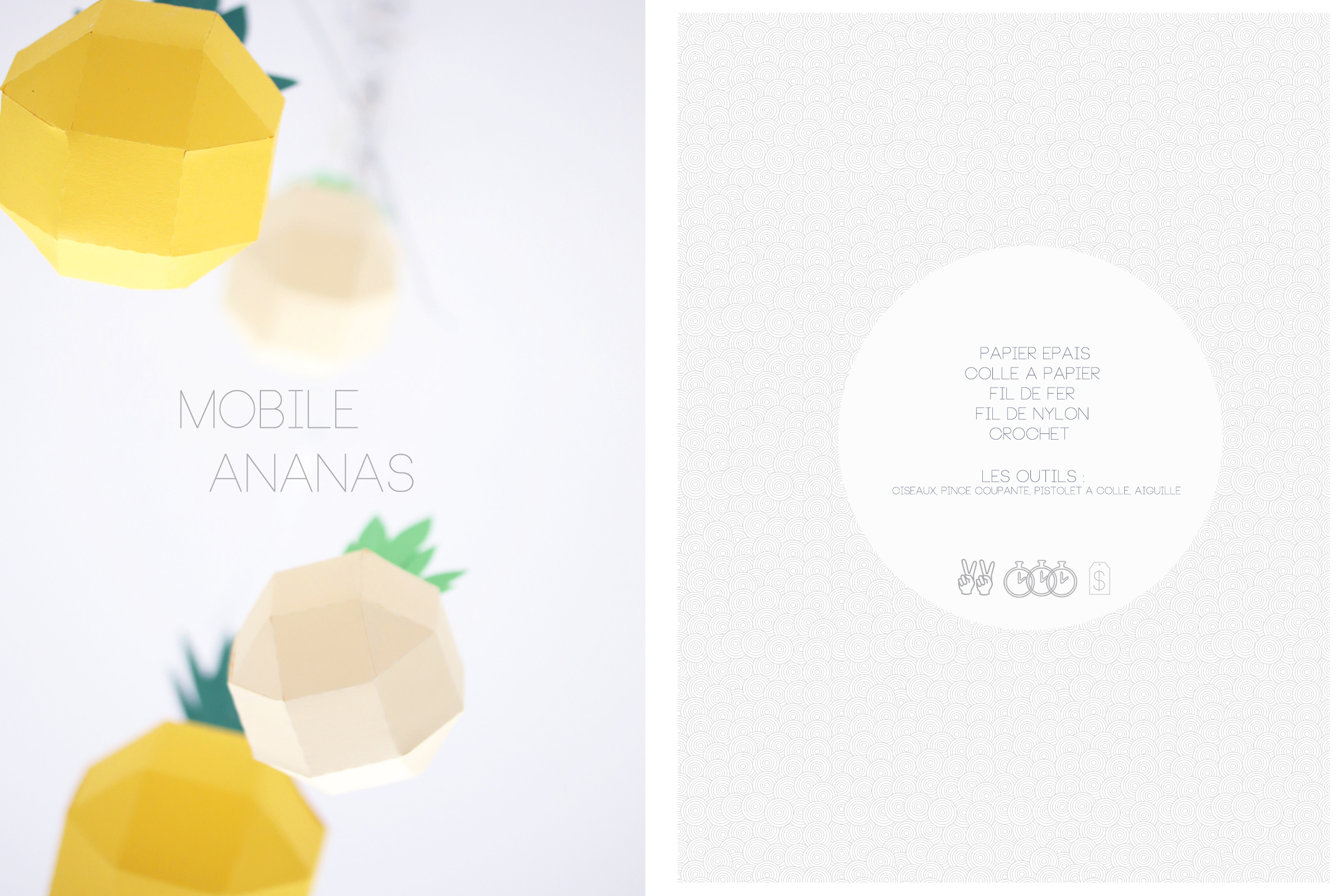 DIY mobile ananas | SP4NK BLOG