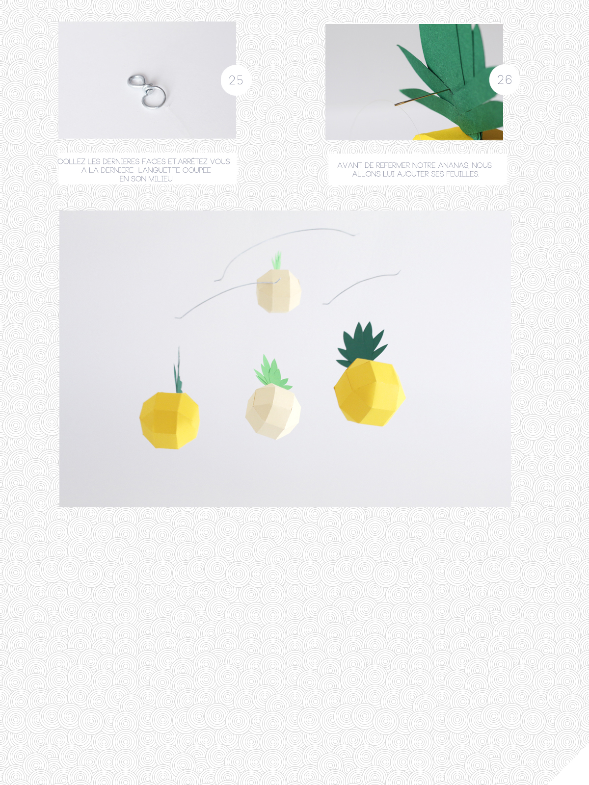 DIY Pineapple movable | SP4NK BLOG