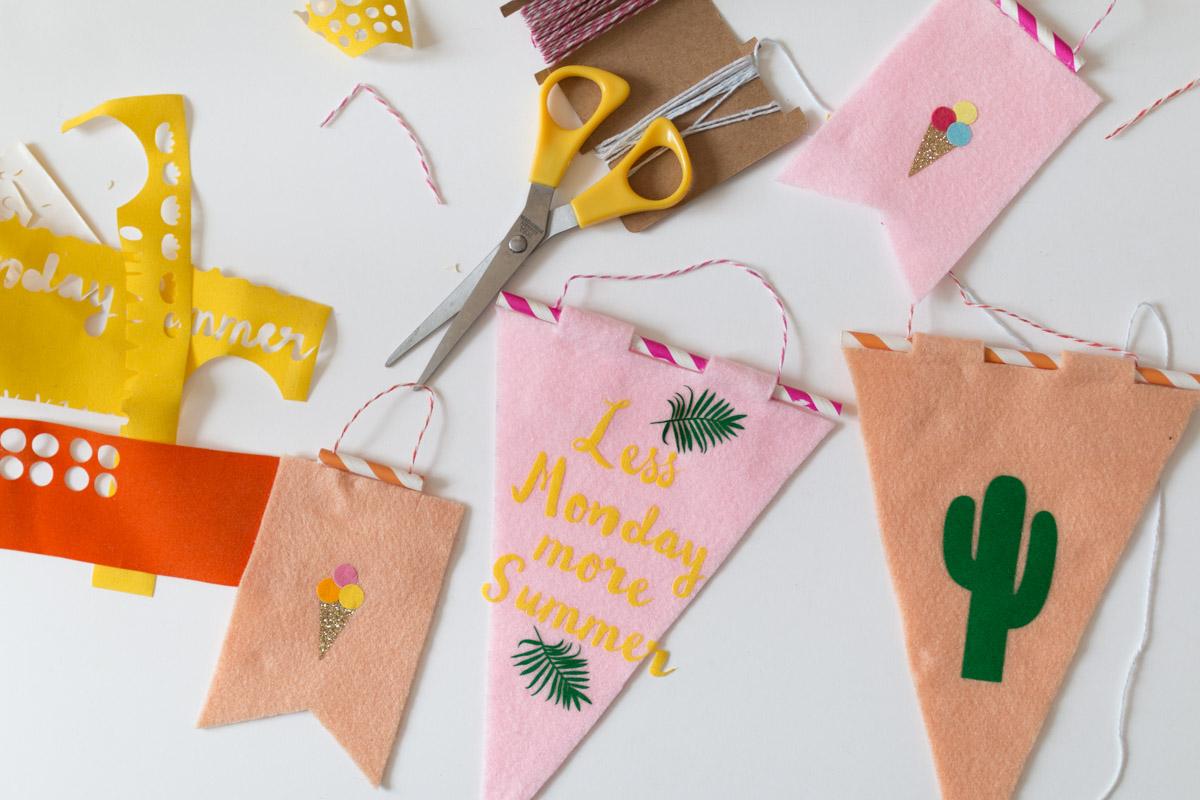 DIY #52 Les petits drapeaux à personnaliser