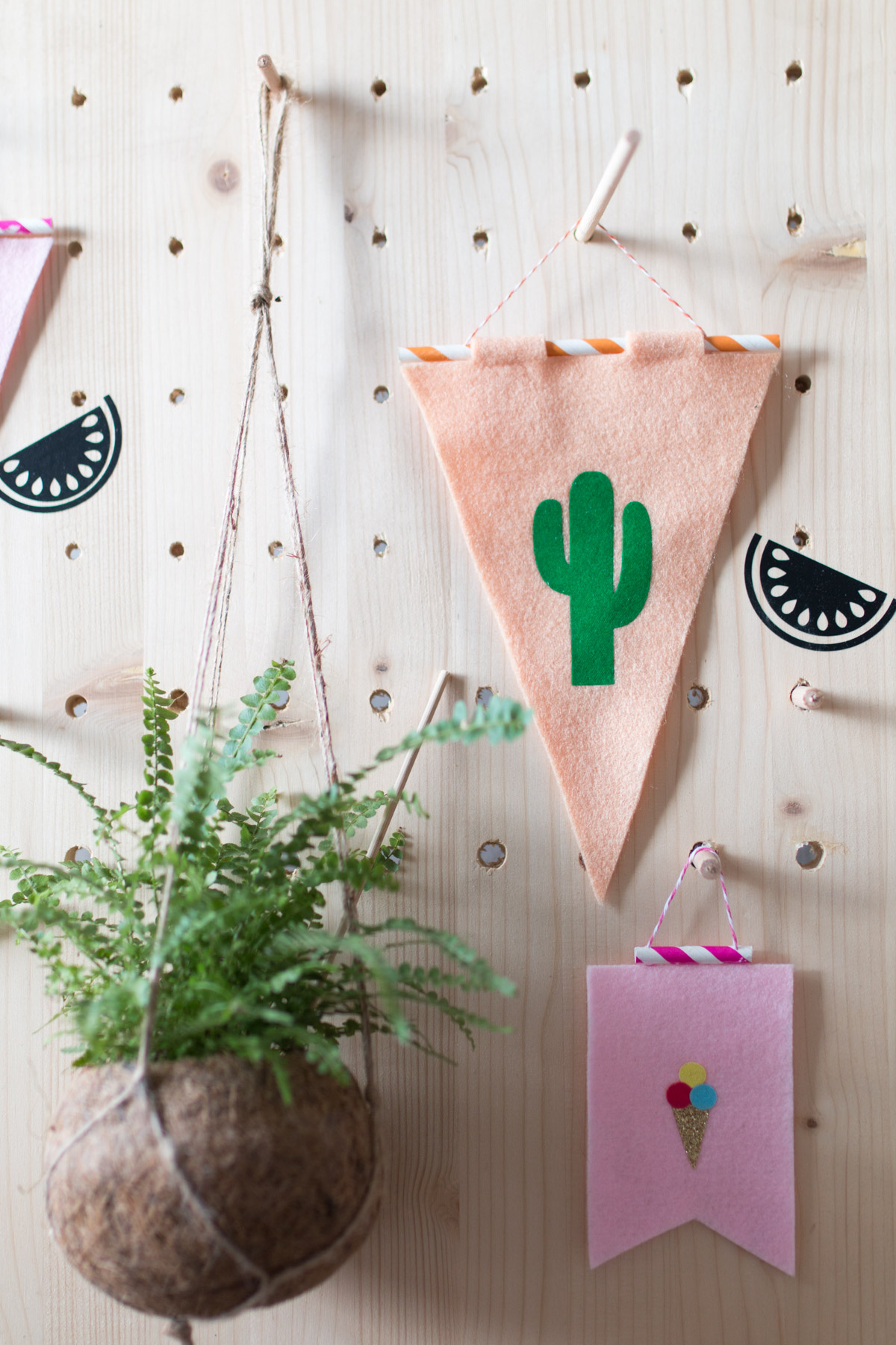 DIY fanion cactus et glace I Sp4nkblog