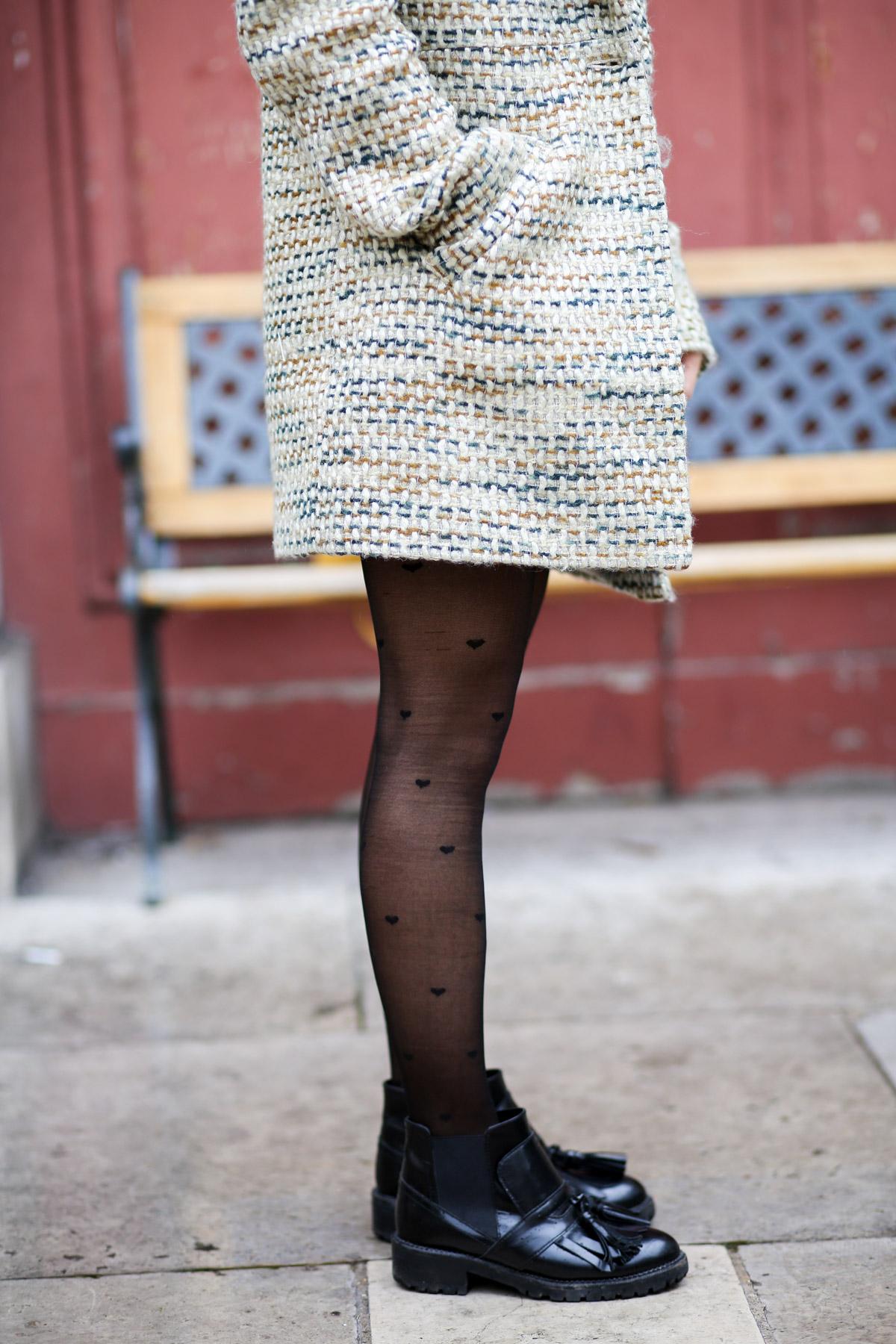 Look sixties béret et jupe trapèze I Sp4nkblog-16