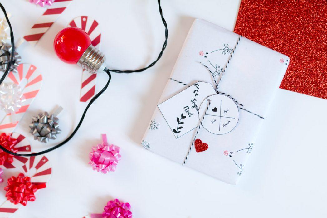 DIY #55 Les étiquettes de Noël