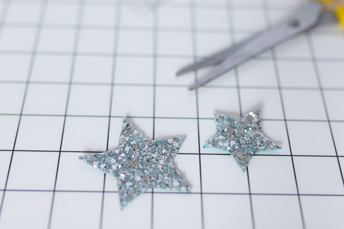 DIY Star Headband glitter  I Sp4nkblog-11