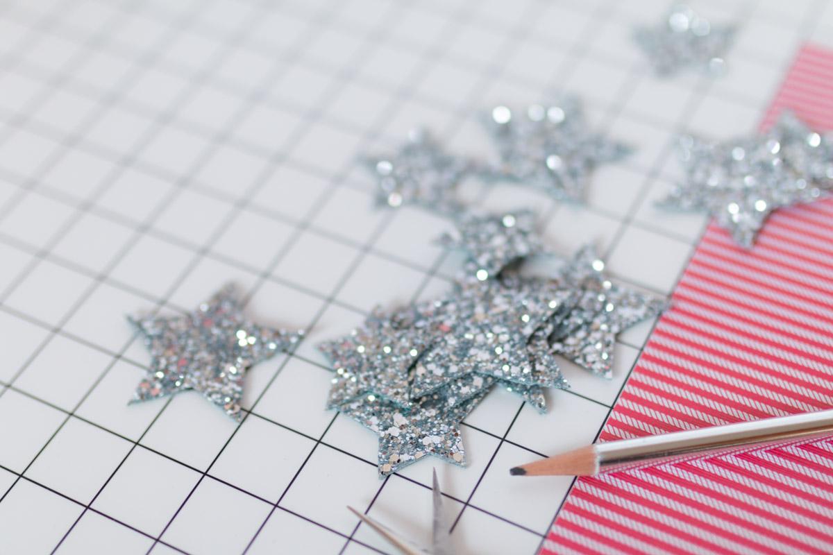 DIY Star Headband glitter  I Sp4nkblog-13