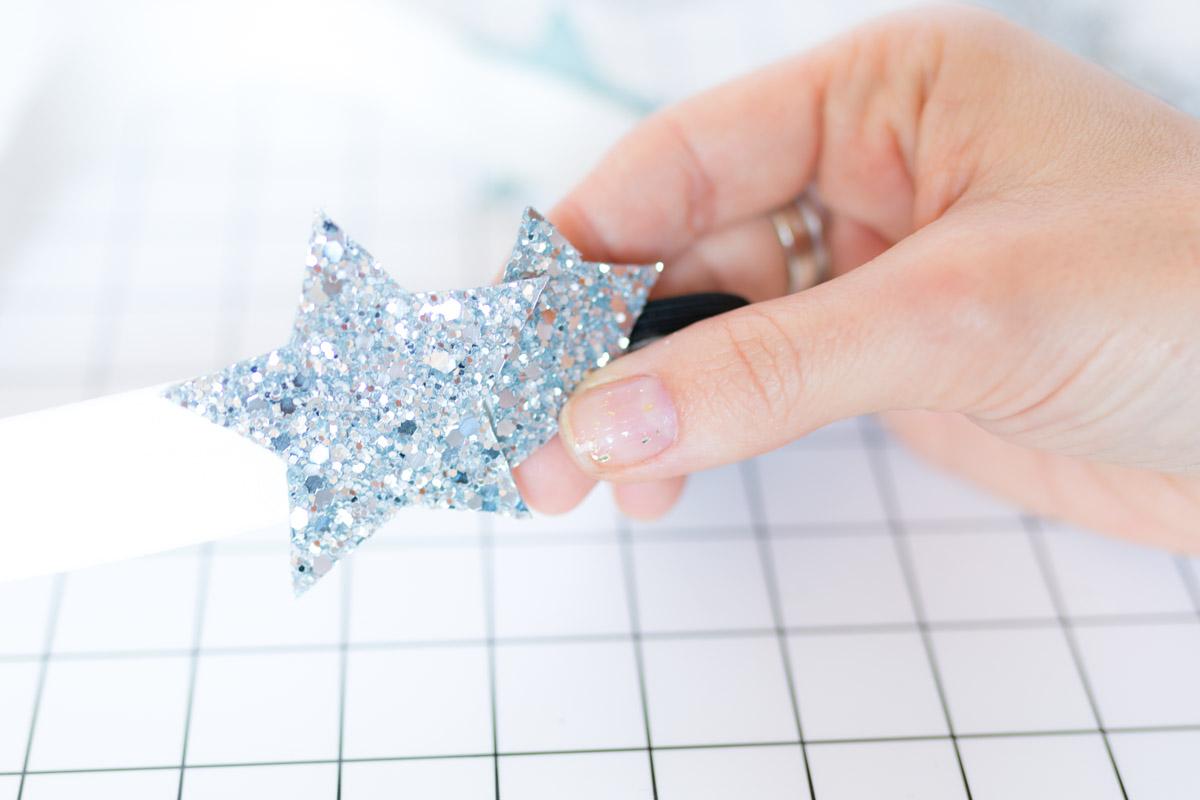DIY Star Headband glitter  I Sp4nkblog-17