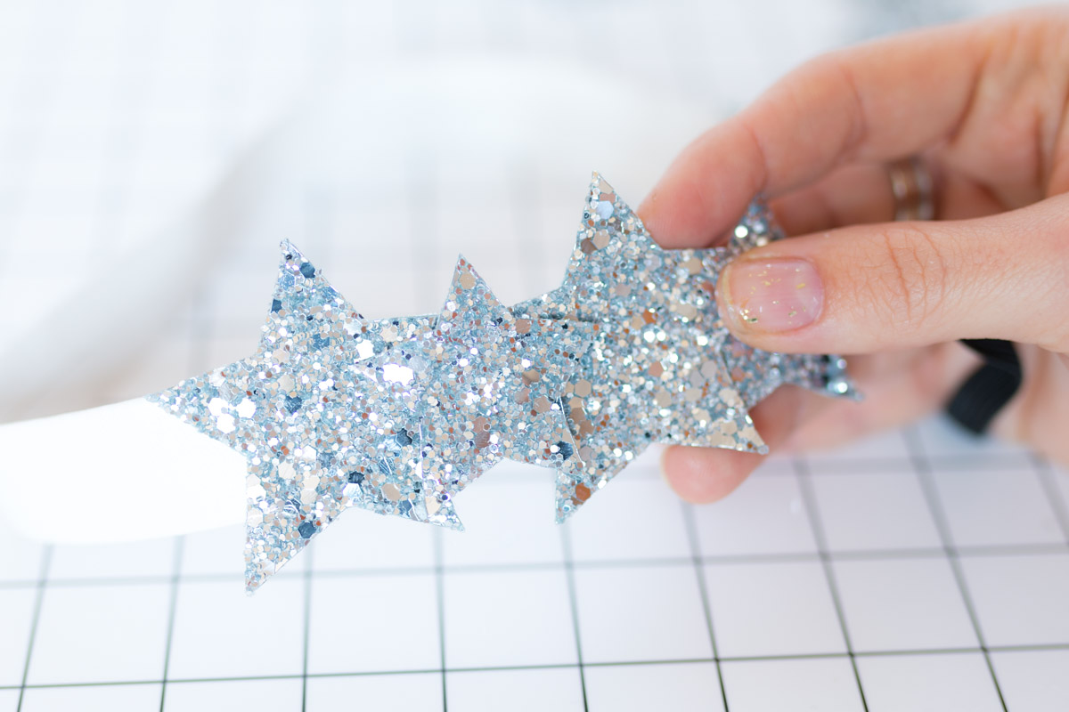 DIY Star Headband glitter  I Sp4nkblog-18