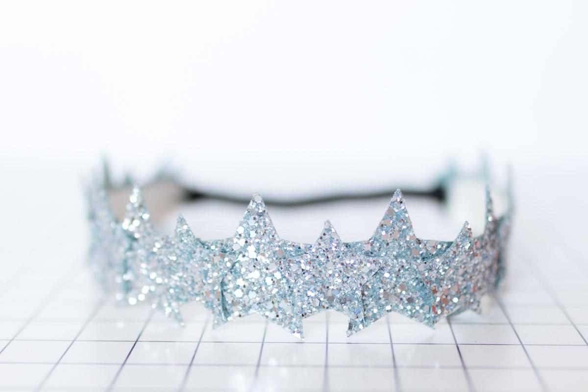 DIY Star Headband glitter  I Sp4nkblog-19