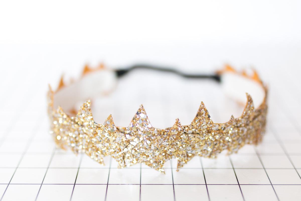 DIY Star Headband glitter  I Sp4nkblog-20