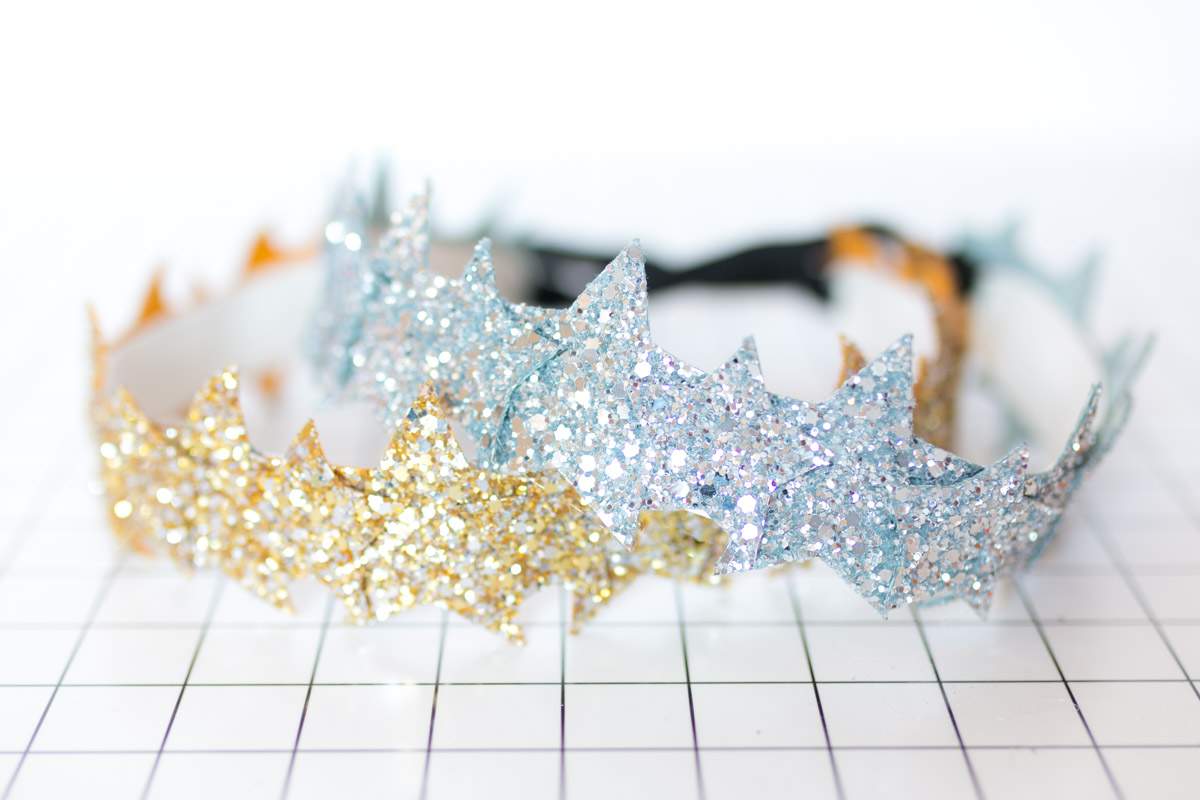 DIY Star Headband glitter  I Sp4nkblog-21