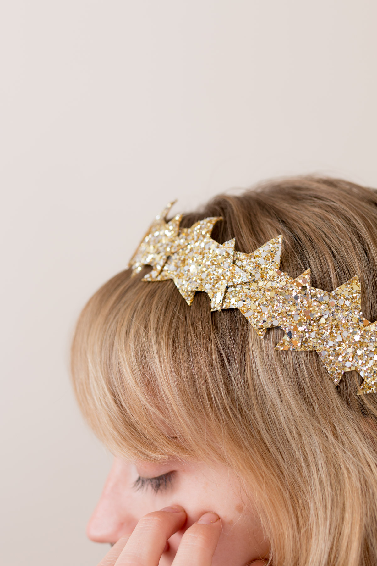DIY Star Headband glitter  I Sp4nkblog-3