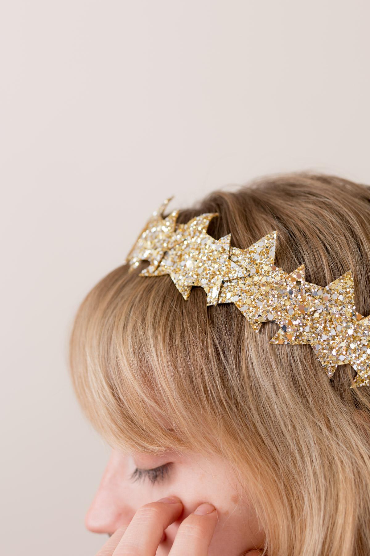 DIY Star Headband glitter  I Sp4nkblog-3