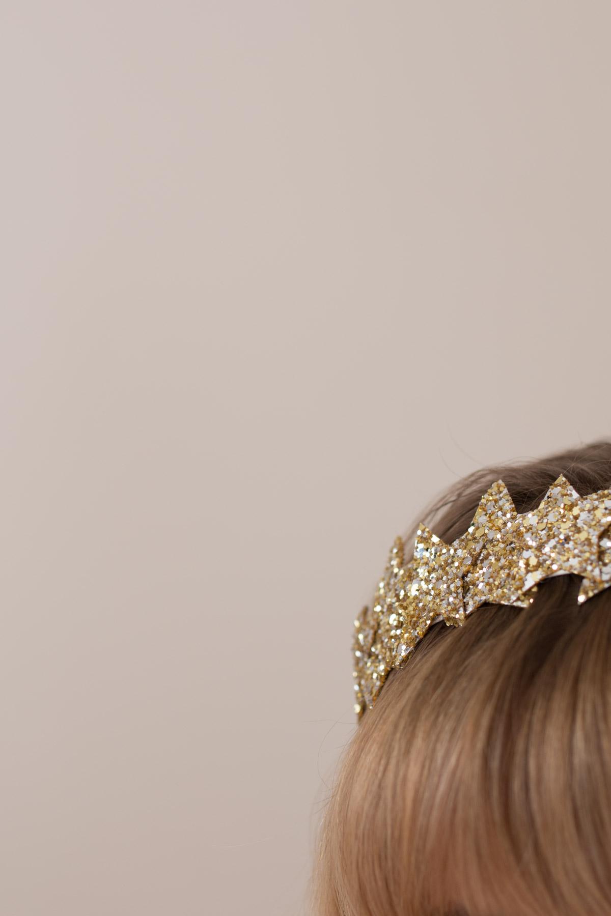 DIY Star Headband glitter  I Sp4nkblog-4