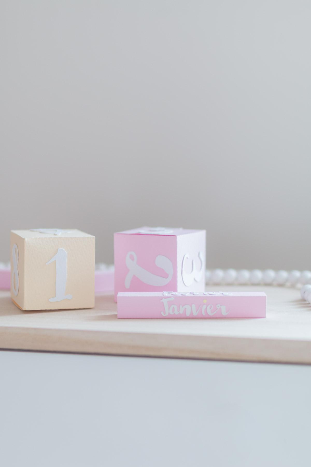 DIY Calendrier 3D en papier  I Sp4nkblog-12