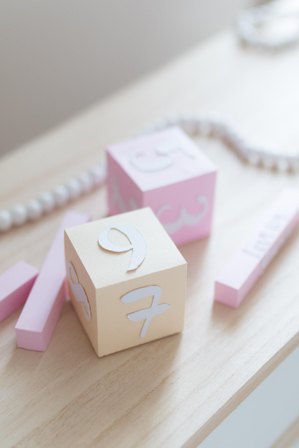 DIY Calendrier 3D en papier  I Sp4nkblog-14