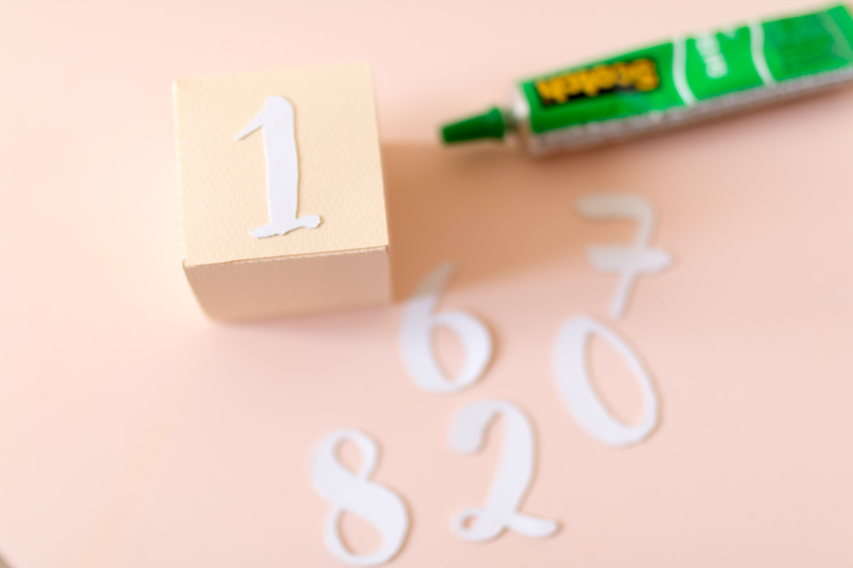 DIY Calendrier 3D en papier  I Sp4nkblog-2