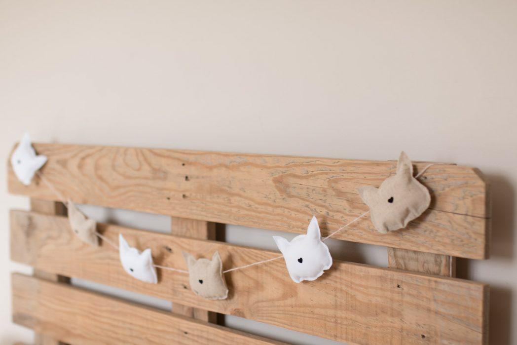 DIY #60 La guirlande à petits chats en tissu